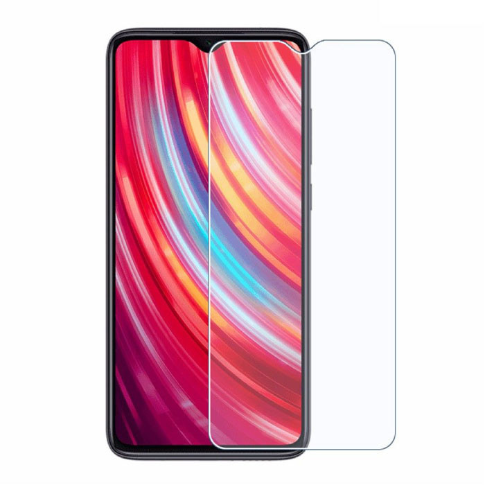 2-Pack Xiaomi Redmi Note 8 Pro Screen Protector Tempered Glass Film Gehard Glas Glazen