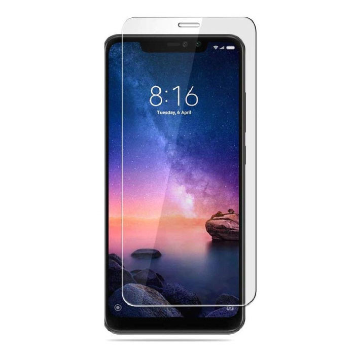 2-Pack Xiaomi Redmi Note 6 Pro Screen Protector Tempered Glass Film Tempered Glass Glasses