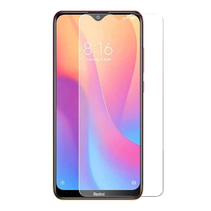 2-Pack Xiaomi Redmi 8 Screen Protector Tempered Glass Film Gehard Glas Glazen