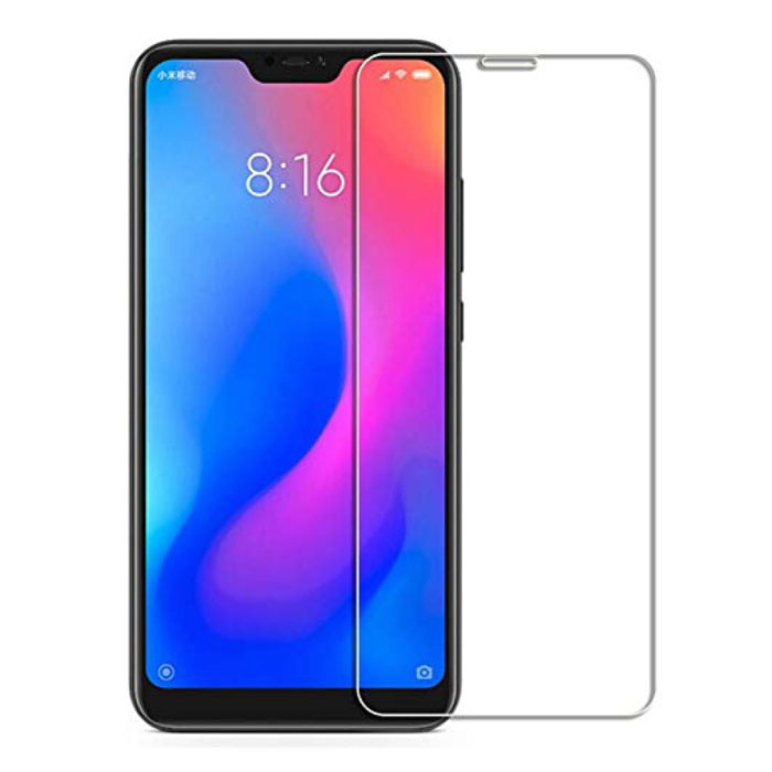 3-Pack Xiaomi Redmi 6 Pro Screen Protector Tempered Glass Film Tempered Glass Glasses