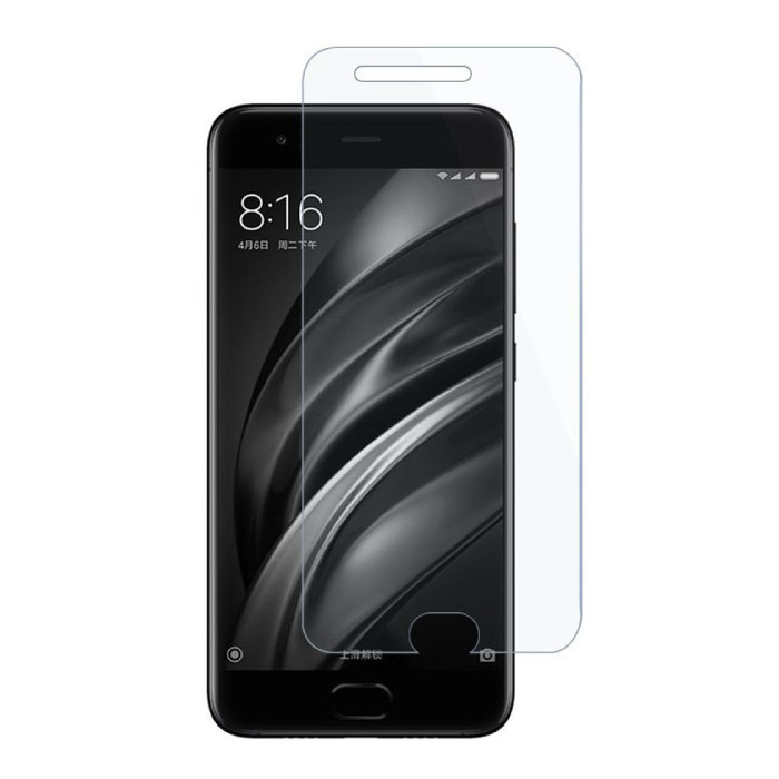 Paquet de 5 verres en verre trempé avec film de protection d'écran Xiaomi Mi 6