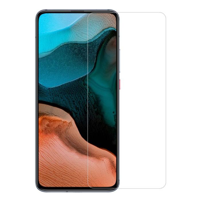 Paquet de 5 verres en verre trempé avec film de protection d'écran Xiaomi Redmi K30 Pro