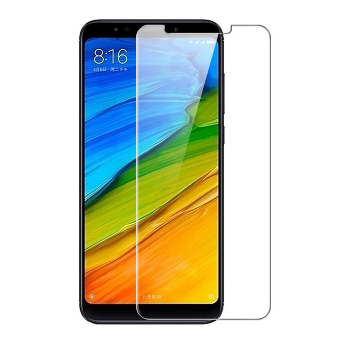 Paquet de 5 verres en verre trempé avec film de protection d'écran Xiaomi Redmi Note 4