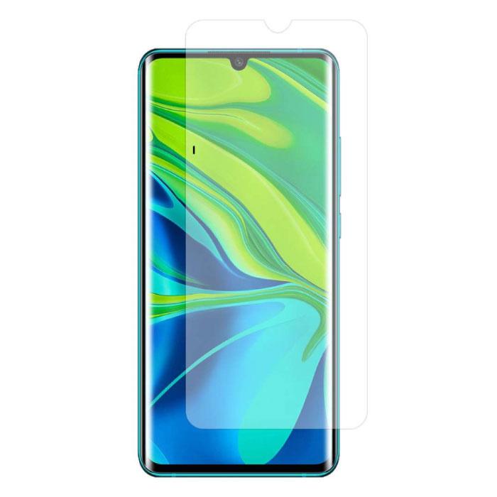 Paquet de 10 verres en verre trempé avec film de protection d'écran Xiaomi Mi Note 10