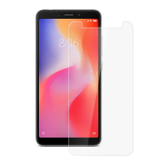10er Pack Xiaomi Redmi 6 Displayschutzfolie aus gehärtetem Glas Hartglas