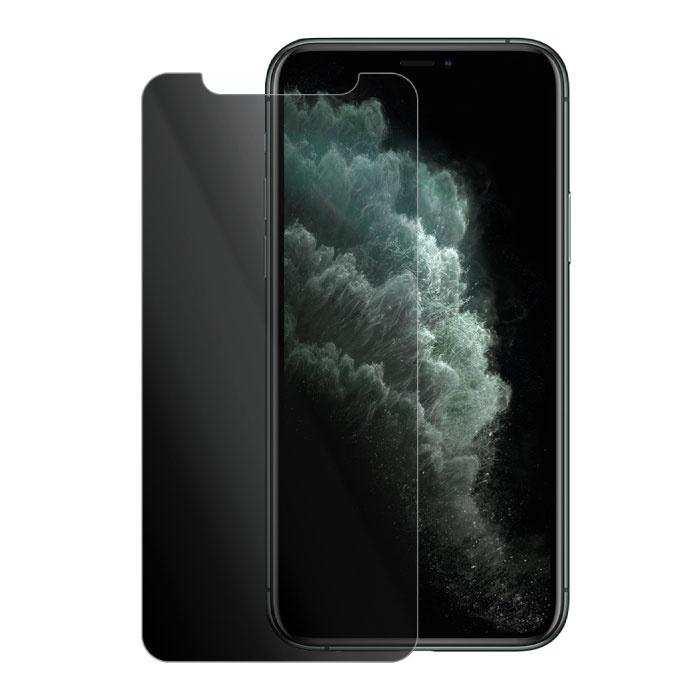 iPhone 12 Mini Protecteur d'écran de confidentialité Film de verre trempé Lunettes en verre trempé