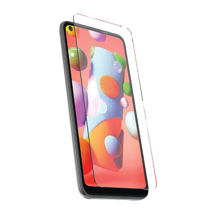 Samsung Galaxy A11 Full Cover Protecteur d'écran 9D Film de verre trempé Lunettes en verre trempé