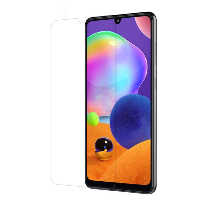 Samsung Galaxy A31 Full Cover Protecteur d'écran 9D Film de verre trempé Lunettes en verre trempé