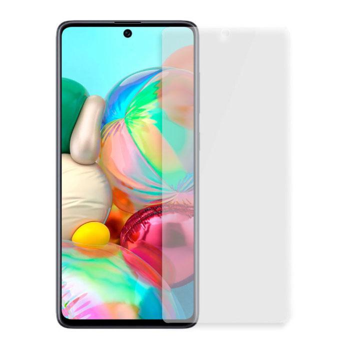 Samsung Galaxy A71 Full Cover Protecteur d'écran 9D Film de verre trempé Lunettes en verre trempé