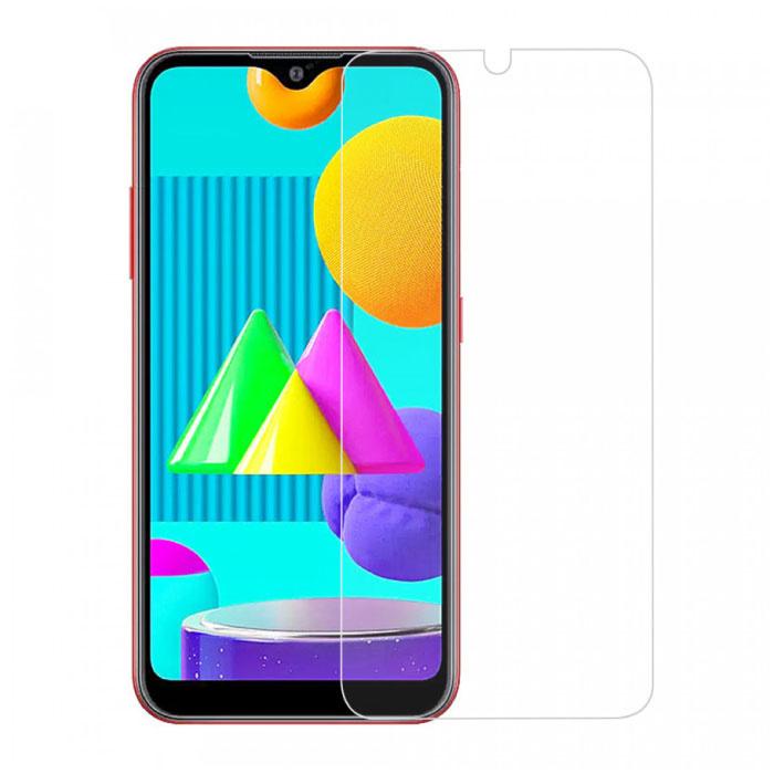 Samsung Galaxy M01 Protecteur d'écran à couverture complète 9D Film de verre trempé Lunettes en verre trempé