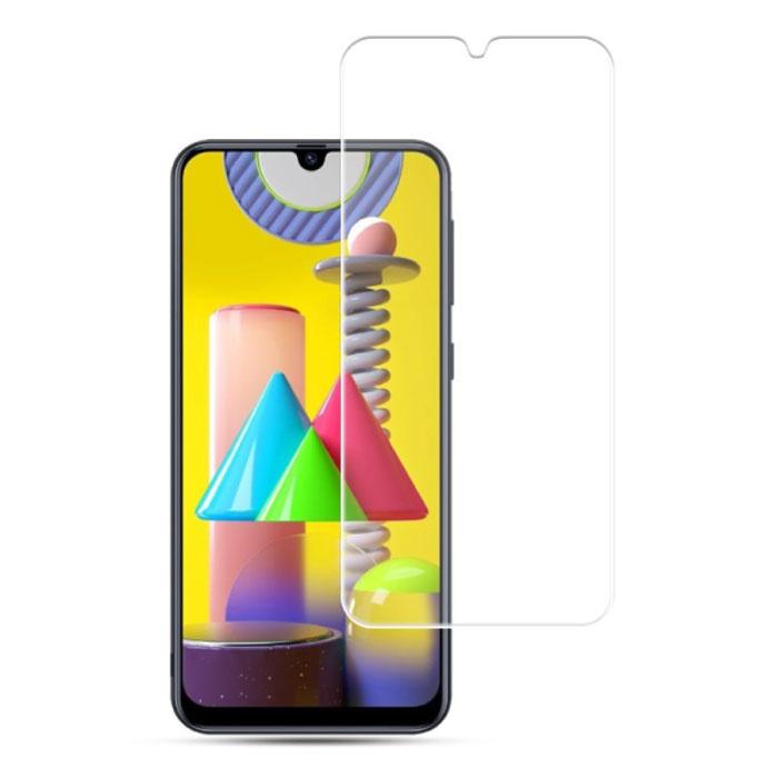 Samsung Galaxy M21 Full Cover Screen Protector 9D Tempered Glass Film Gehard Glas Glazen