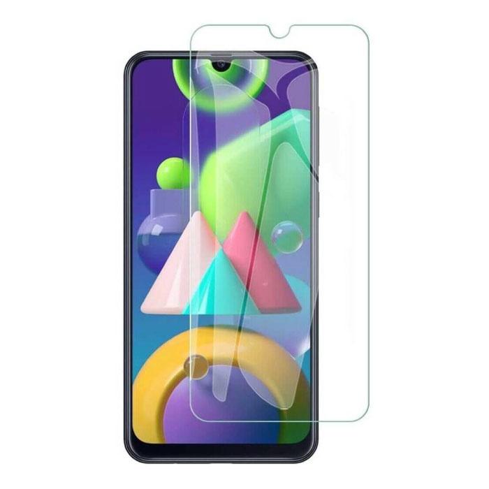 Samsung Galaxy M31S Protecteur d'écran à couverture complète 9D Film de verre trempé Lunettes en verre trempé