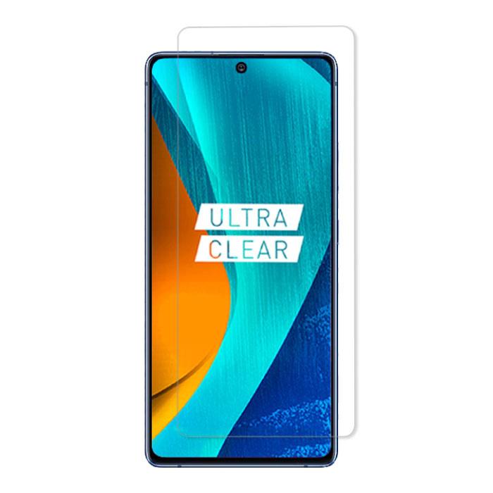 Samsung Galaxy M51 Full Cover Displayschutzfolie 9D gehärtete Glasfolie gehärtete Glasbrille