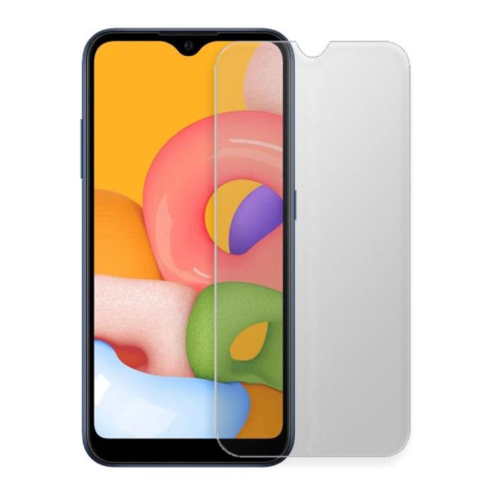 2-Pack Samsung Galaxy A01 Protecteur d'écran Full Cover Film de verre trempé 9D Lunettes en verre trempé