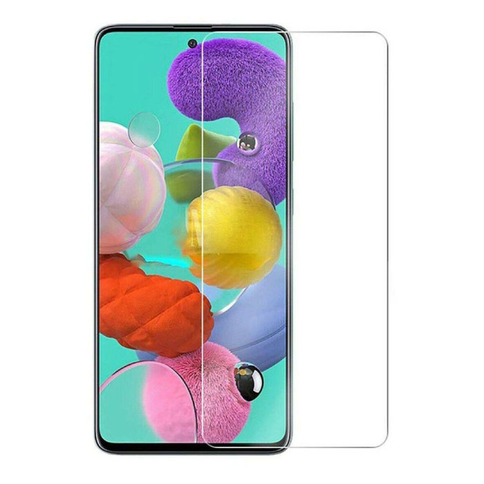 2-Pack Samsung Galaxy A51 Full Cover Screen Protector 9D Tempered Glass Film Gehard Glas Glazen