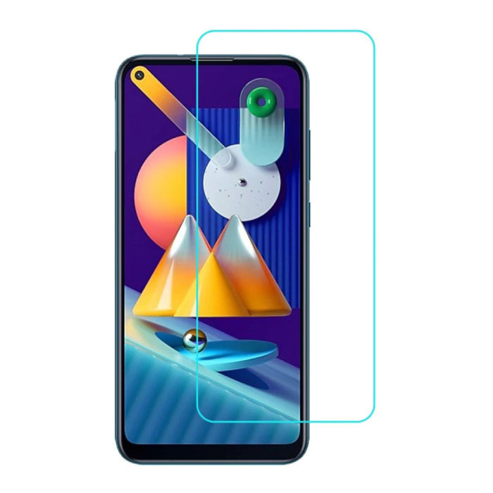 2-Pack Samsung Galaxy M11 Full Cover Screen Protector 9D Tempered Glass Film Gehard Glas Glazen
