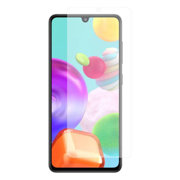 10er-Pack Samsung Galaxy A41 Vollschutz-Displayschutzfolie 9D-Glasscheibe aus gehärtetem Glas