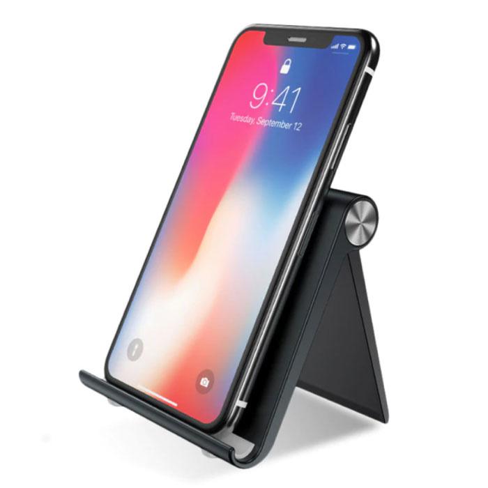 Universele Telefoonhouder Bureau Standaard - Videobellen Smartphone Holder Desk Stand Zwart