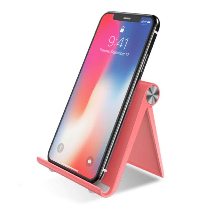 Universal Phone Holder Schreibtischständer - Videoanruf Smartphone Halter Schreibtischständer Pink