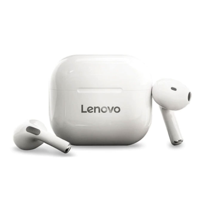 LP40 Wireless Earphones - Touch Control TWS Earphones Bluetooth 5.0 Wireless Buds Earphones Earphone White