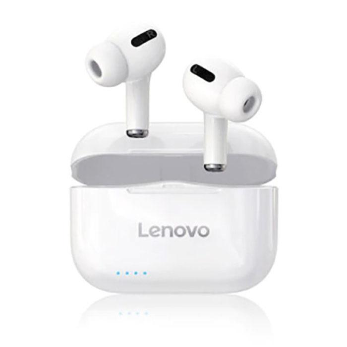 LP1S Wireless-Kopfhörer - TWS-Ohrhörer Bluetooth 5.0 Wireless Buds Earphones Earphone White