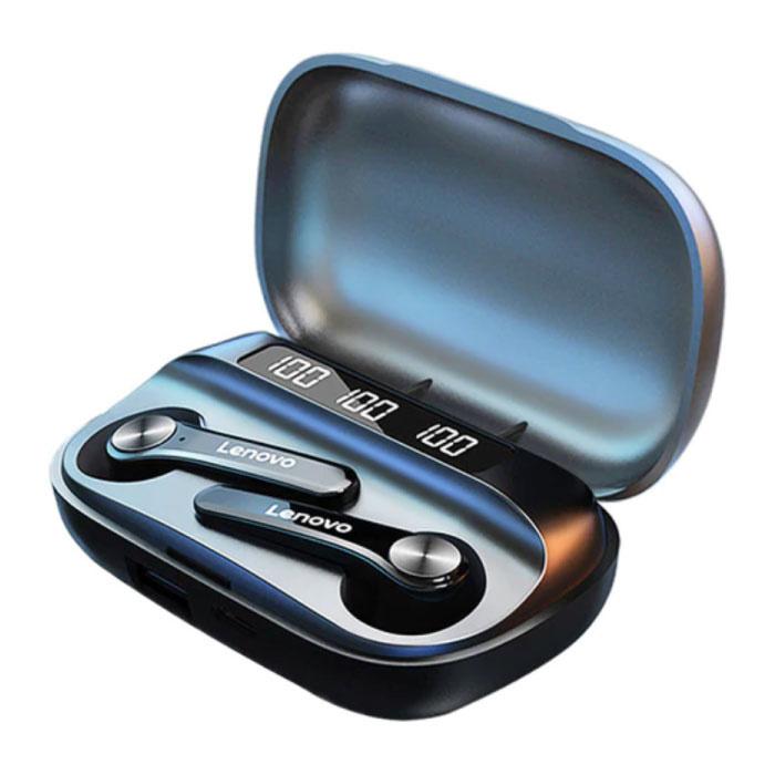Écouteurs sans fil QT81 - Écouteurs TWS Écouteurs sans fil Bluetooth 5.0 Écouteurs noirs