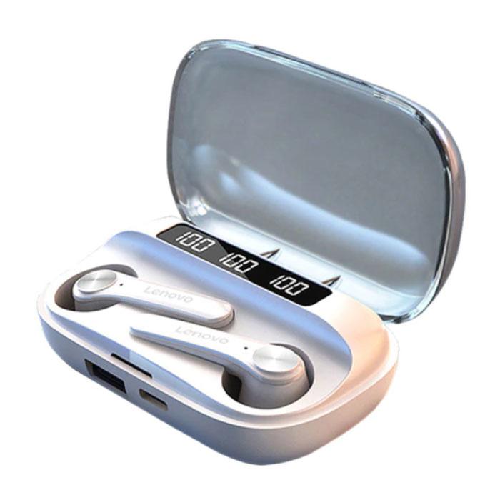 QT81 Wireless Earphones - TWS Earphones Bluetooth 5.0 Wireless Buds Earphones Earphone White