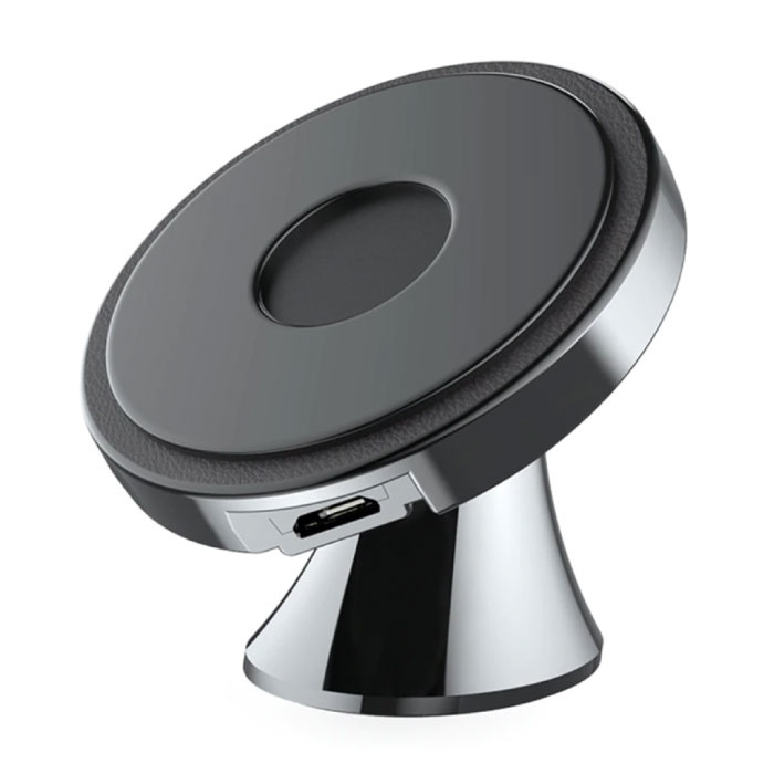 Qi Wireless Car Charger 10W - Dashboard Standard Charger Universal Wireless Car Stand Charging Pad Black