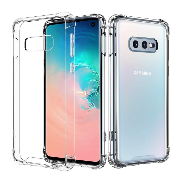 Samsung Galaxy Note 8 Transparente Stoßstangenhülle - Klare Hülle Silikon TPU Anti-Shock