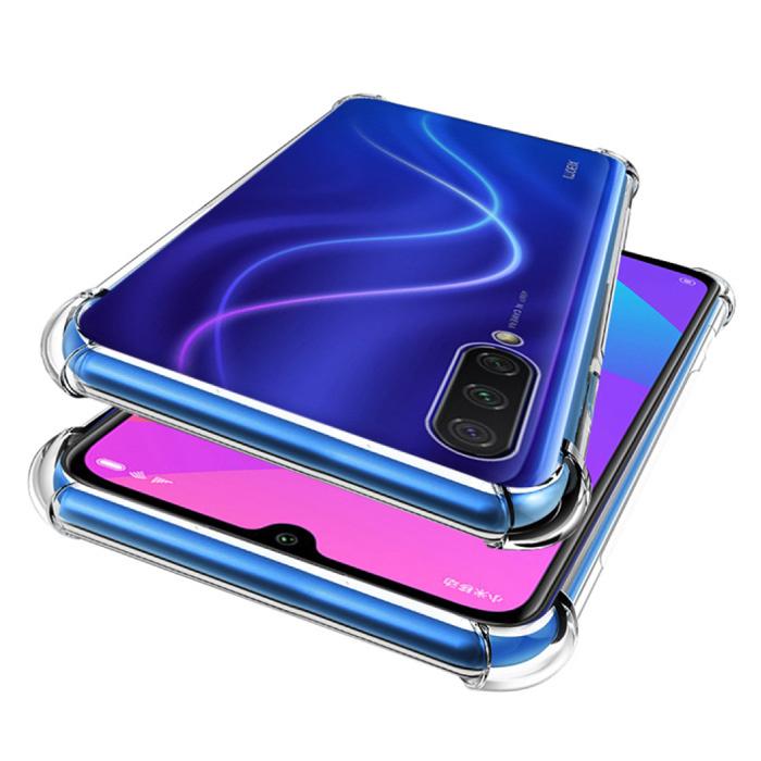 Samsung Galaxy A3 Transparente Stoßstangenhülle - Klare Hülle Silikon TPU Anti-Shock