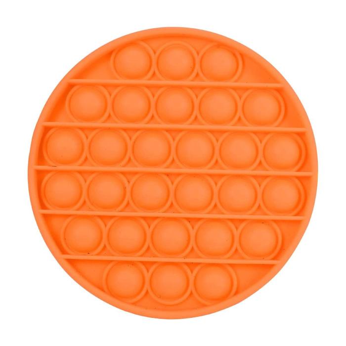 Pop It - Zappeln Anti Stress Spielzeug Bubble Toy Silikon Orange