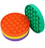 Stuff Certified® Pop It - Fidget Anti Stress Toy Bubble Toy Silicone Rainbow