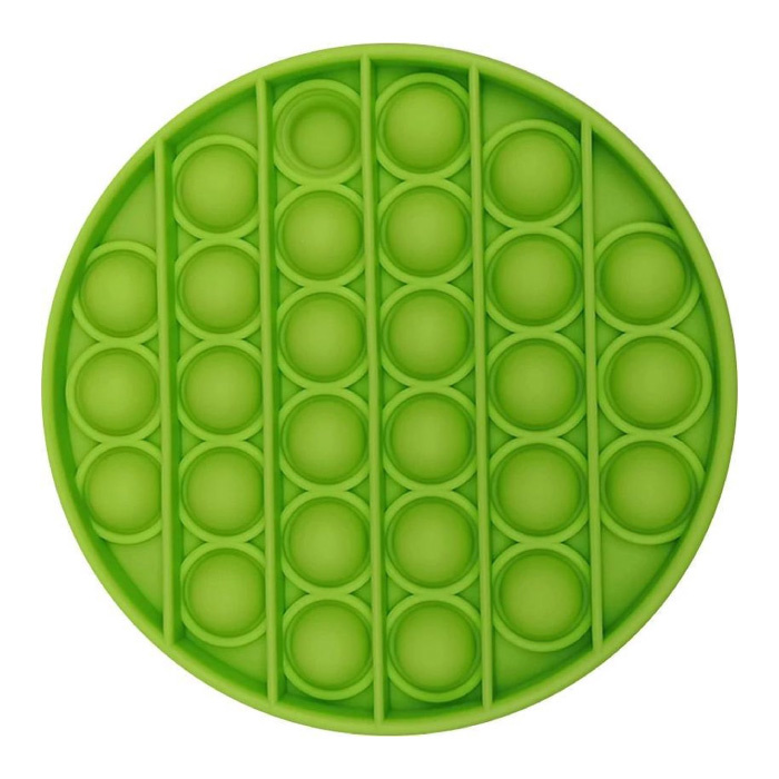 Pop It - Fidget Anti Stress Speelgoed Bubble Toy Siliconen Groen