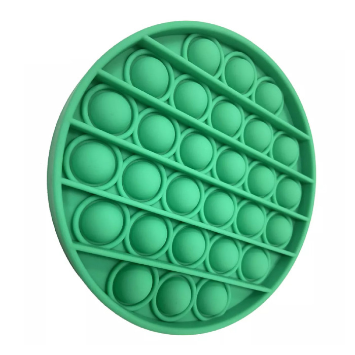 Pop It - Fidget Anti Stress Speelgoed Bubble Toy Siliconen Aqua