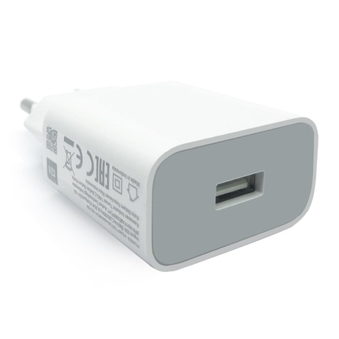 Fast Charge Stekkerlader - 3A Quick Charge 3.0 Muur Oplader Adapter Wit
