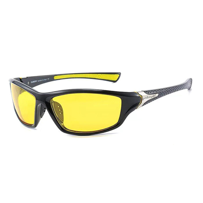 Sport Sunglasses - UV400 and Polarized Filter for Men and Women - Yellow