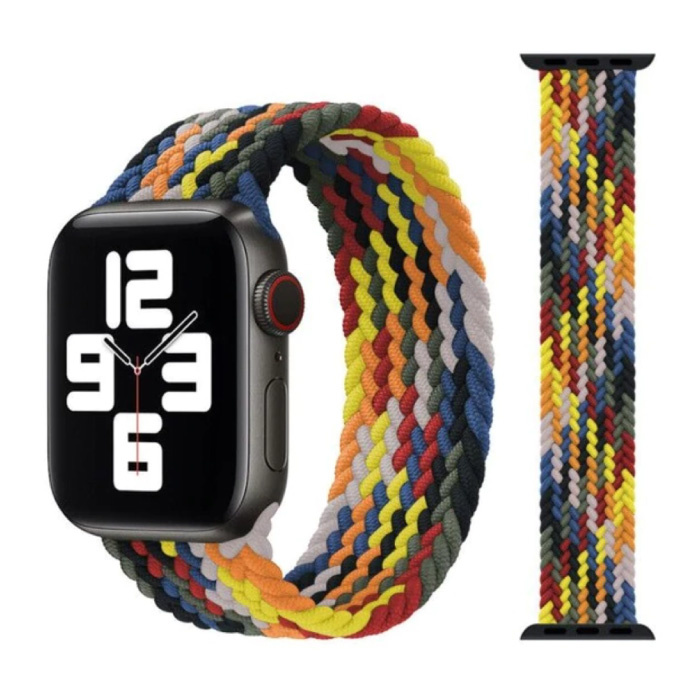 Geflochtenes Nylonband für iWatch 42mm / 44mm (Mittel) - Armband Armband Armband Armbandfarbe