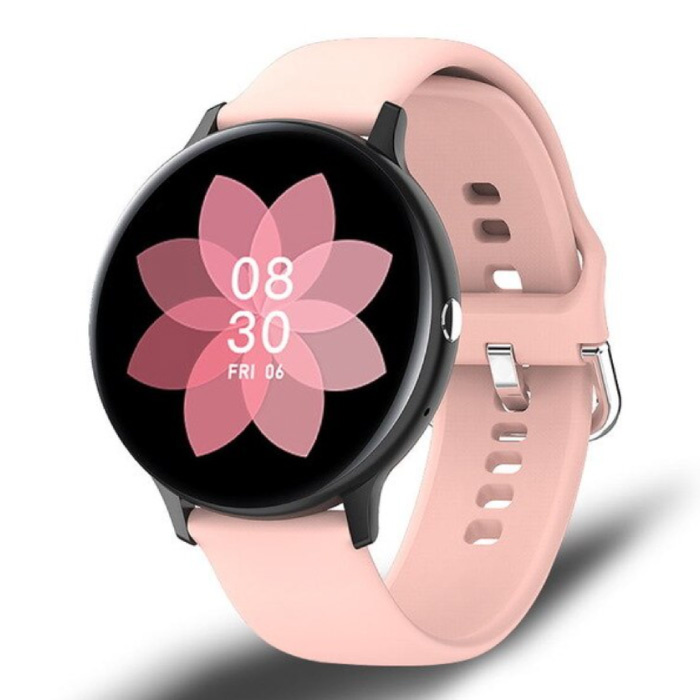 Sport Smartwatch - Silikonband Fitness Activity Tracker Uhr Android - Pink