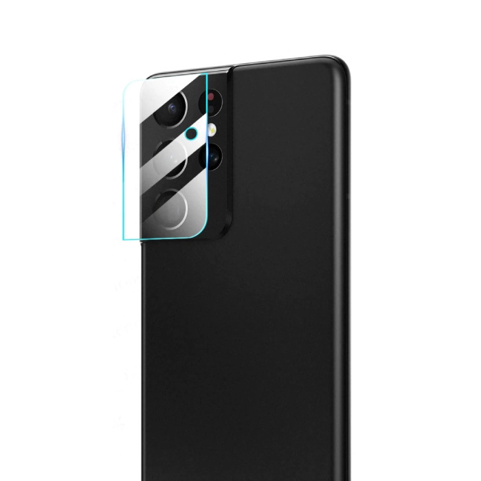 Cache d'objectif de caméra en verre trempé Ultra Samsung Galaxy S21 - Protection antichoc