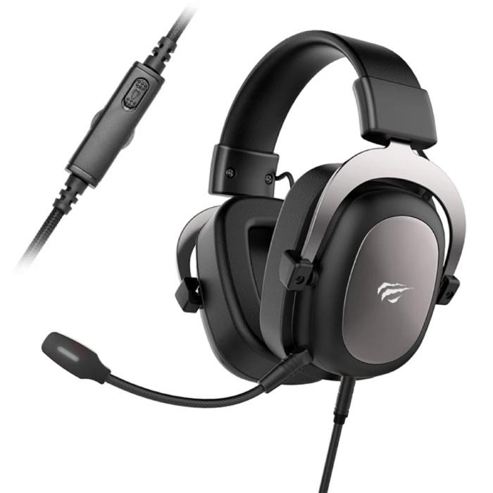 Draadloze Gaming Koptelefoon met Omnidirectionele Mic - Voor PS4/PS5 - Headset Headphones met Microfoon Zwart