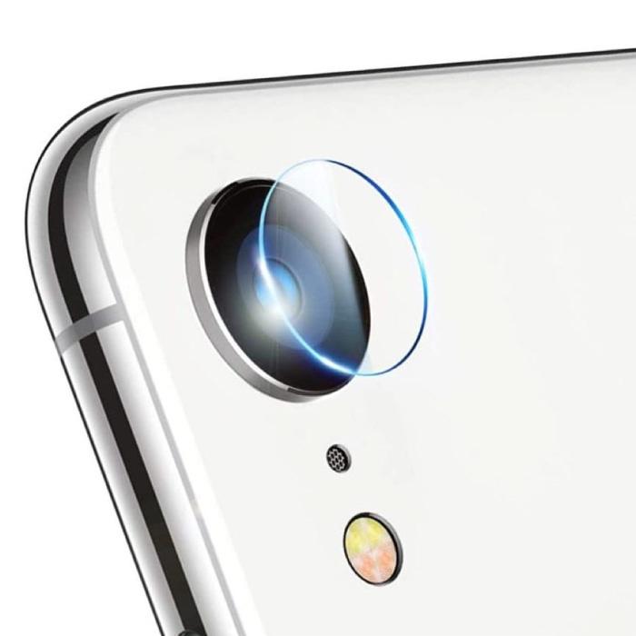 Couvre-objectif pour appareil photo en verre trempé pour iPhone 8, paquet de 3 - Protection antichoc