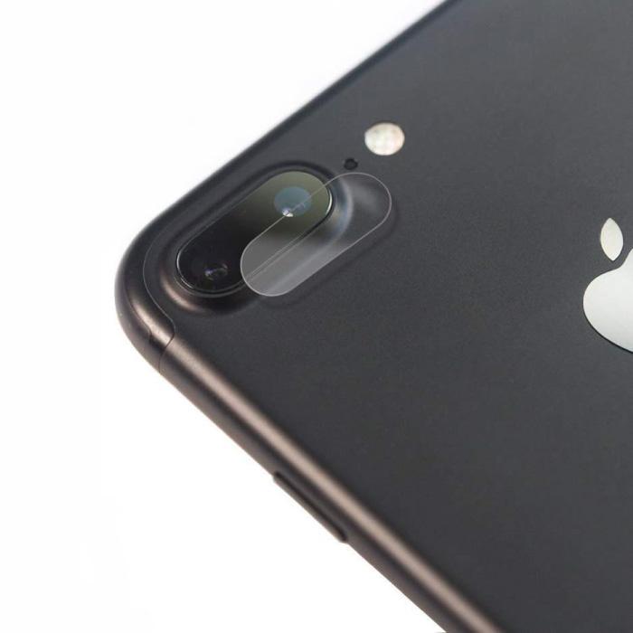 Lot de 3 cache-objectif en verre trempé pour iPhone 8 Plus - Protection antichoc