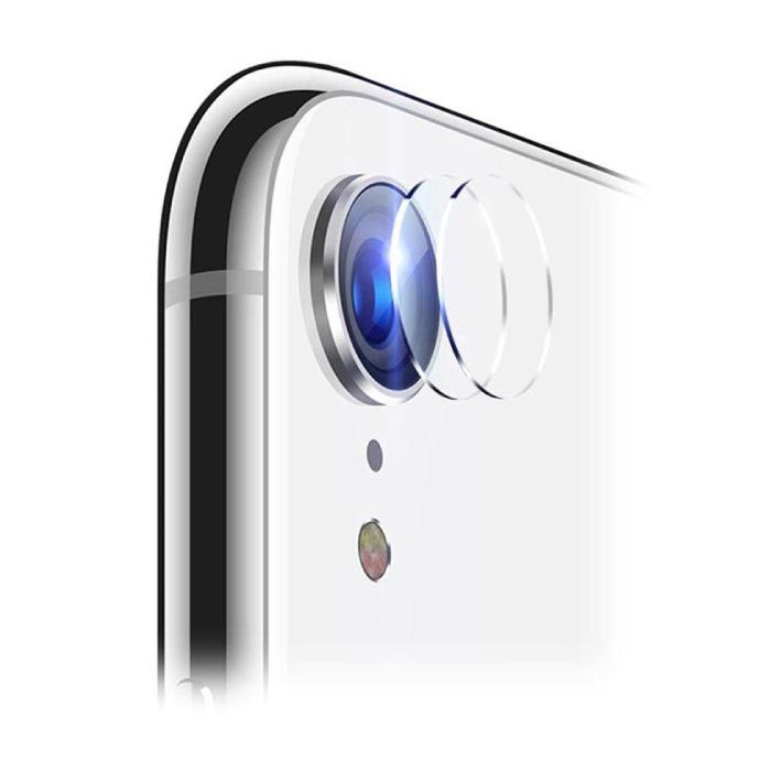 Lot de 3 couvercles d'objectif en verre trempé pour iPhone XR - Protection antichoc