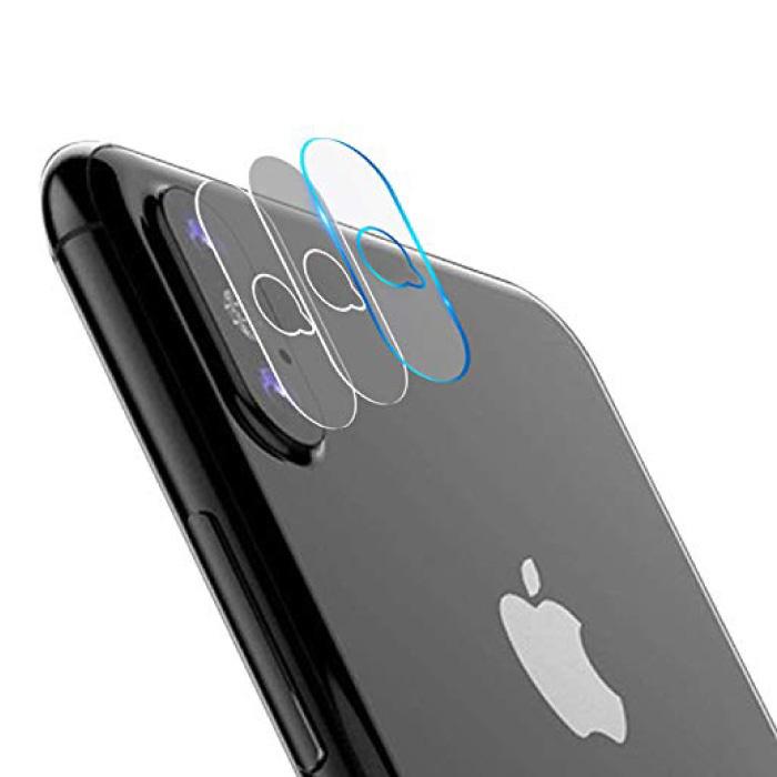 Couvre-objectif en verre trempé pour iPhone XS Max, paquet de 3 - Protection antichoc