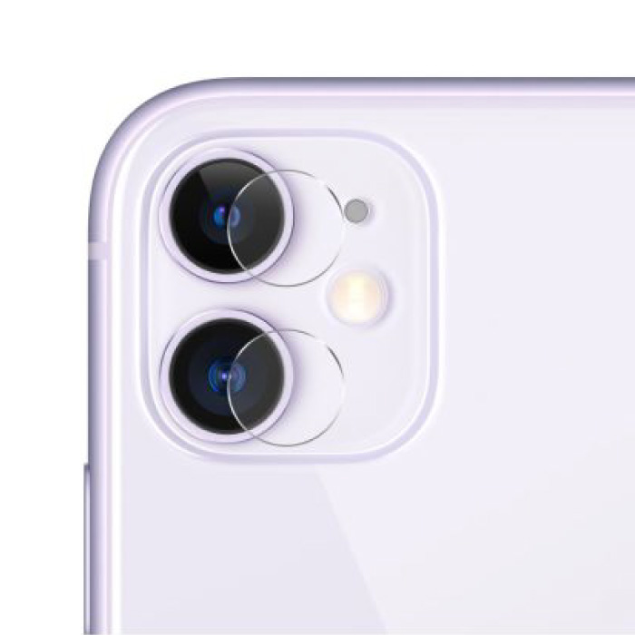 3-Pack iPhone 11 Tempered Glass Camera Lens Cover - Shockproof Case Protection