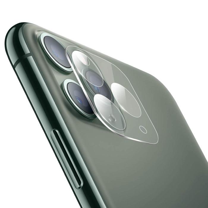 Lot de 3 cache-objectif en verre trempé pour iPhone 11 Pro Max - Protection antichoc