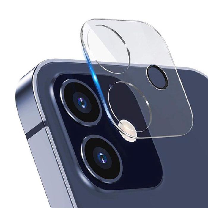 Lot de 3 mini-couvercles d'objectif en verre trempé pour iPhone 12 - Protection antichoc