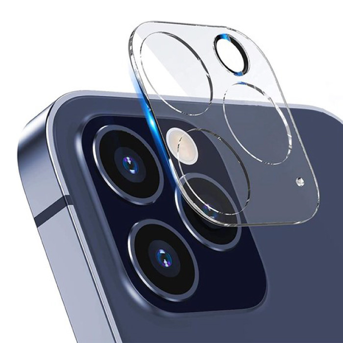 3-Pack iPhone 12 Pro Max Tempered Glass Camera Lens Cover - Shockproof Case Protection