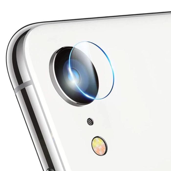 Lot de 3 cache-objectif en verre trempé pour iPhone SE (2020) - Protection antichoc