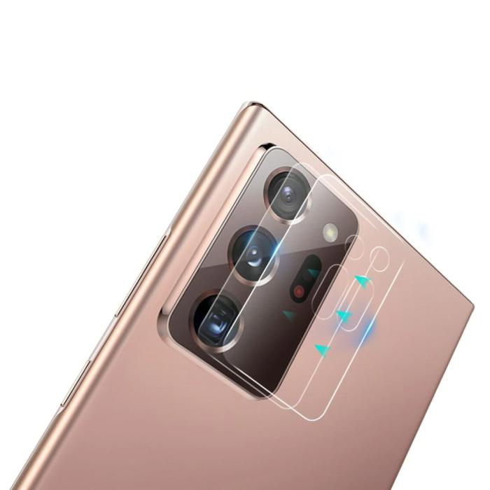 3er-Pack Samsung Galaxy Note 20 Kameraobjektivabdeckung aus gehärtetem Glas - stoßfester Gehäuseschutz